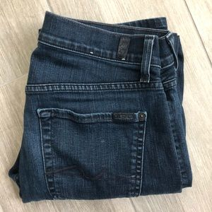7 For All Mankind Mens Blue Jeans 31x32